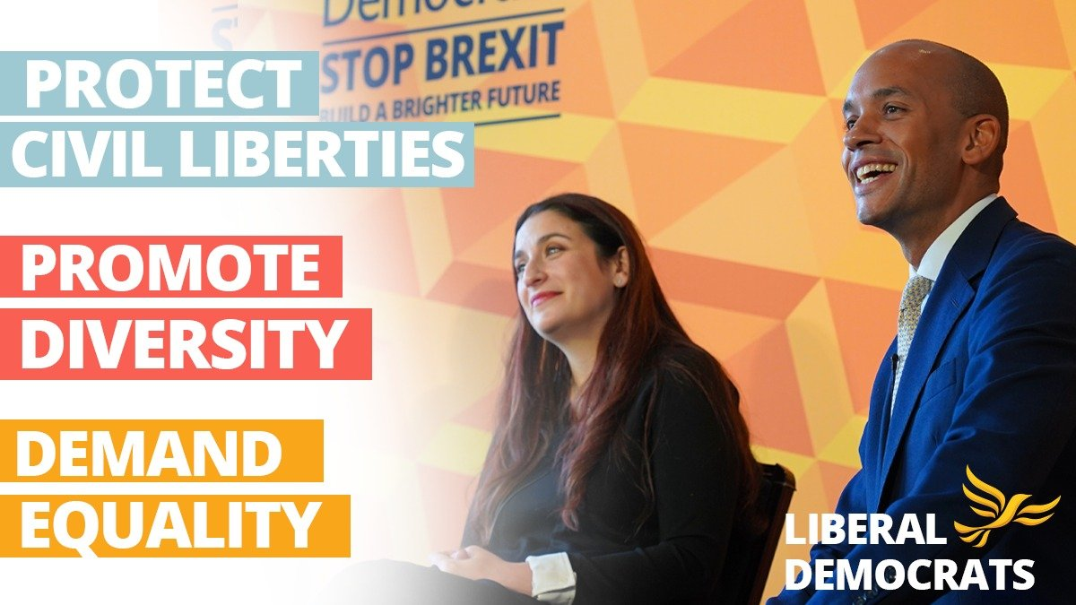 We have an ambitious plan to build a #BrighterFuture for everyone. A vote for the LibDems in this election is a vote for a government with equality for all at the heart of its agenda. Check out our plan for equalities & human rights here: libdems.org.uk/plan-equalities