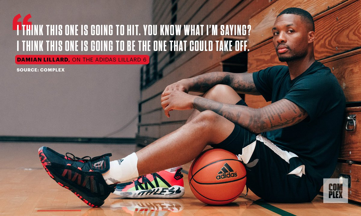 .@Dame_Lillard explains why the Adidas Dame 6 is going to be a success   FULL STORY: http://cmplx.co/UE8ZEgv