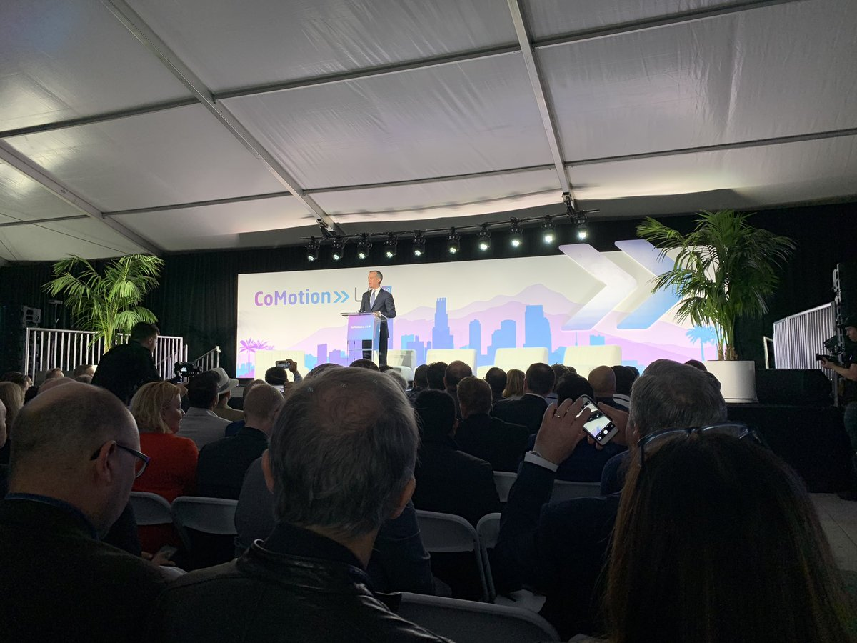 Powerful ideas from LA Mayor @ericgarcetti on LA's impressive investment in new tech to move way beyond cars in our cities #mobility #innovation @LA_CoMotion @OpenMobilityFnd @staehere