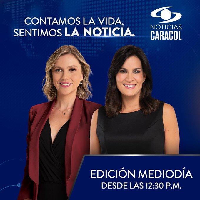 ¡Bienvenidos las #NoticiasCaracol del mediodía! Conéctese con @CatalinaGomezS y @vanedelatorre >> http://bit.ly/2uQzKwL