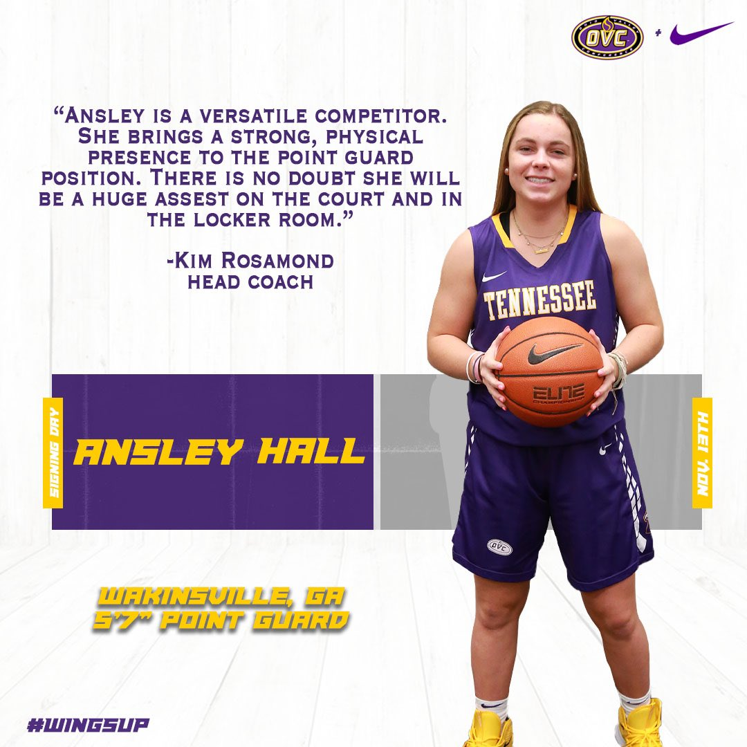 Tennessee Tech Women S Basketball On Twitter Signing Class Of 2020 Highlights