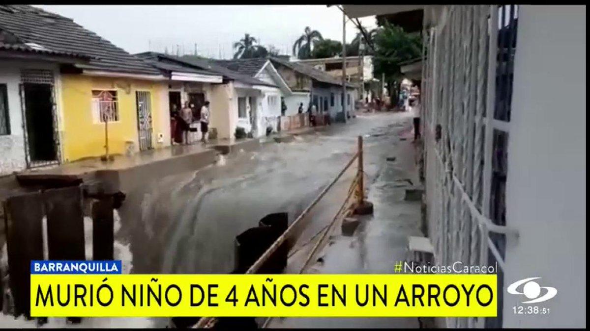 Otra vez muere un niño en Barranquilla tras caer a un arroyo >> http://bit.ly/2q2SETG