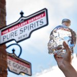 Image for the Tweet beginning: This way to pure spirits