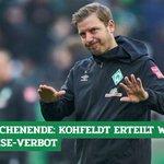Image for the Tweet beginning: Abheben verboten! #Werder-Coach #Kohfeldt hat