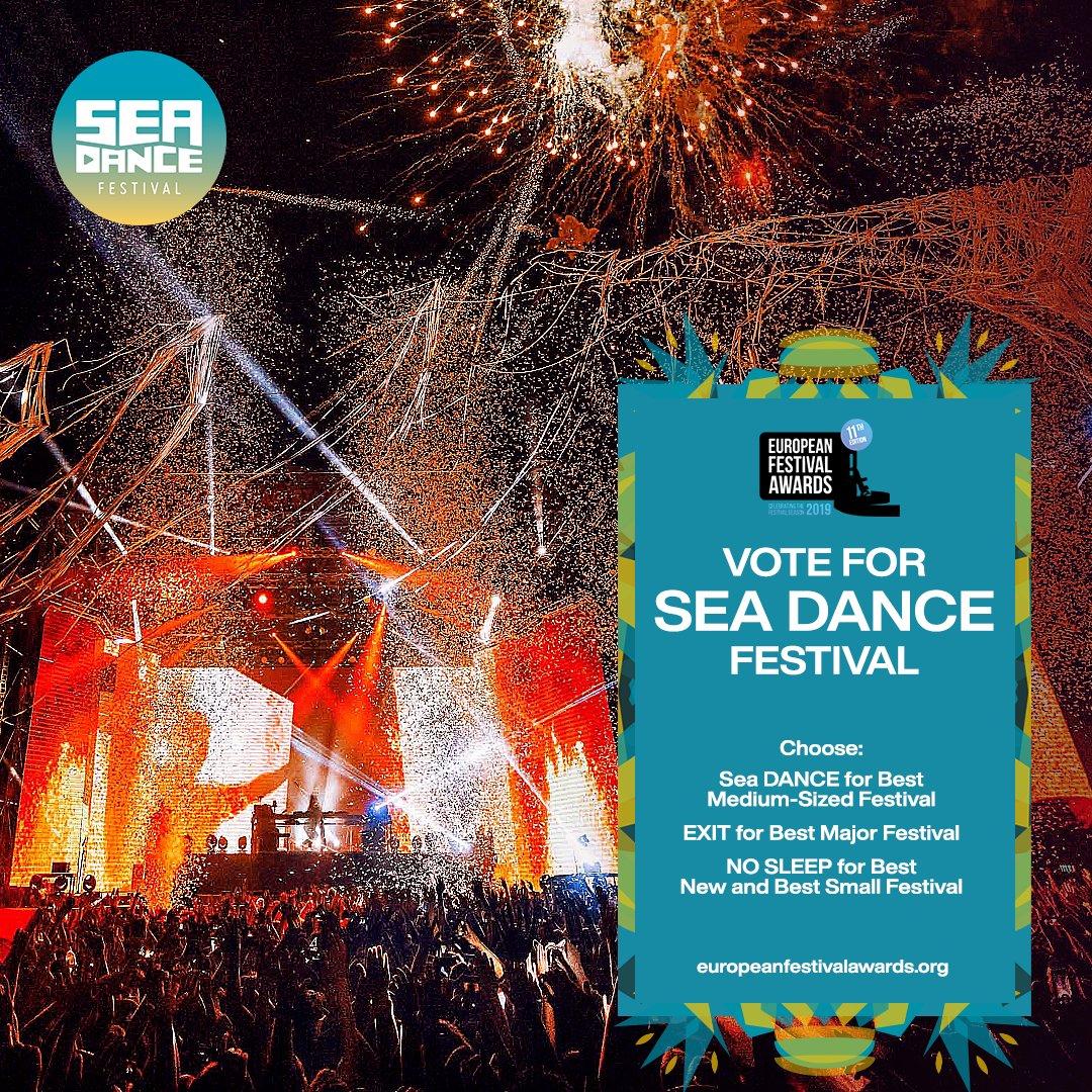 #SeaDance u novom jurišu na titulu za Najbolji evropski festival! 😍 Spektakularno šesto izdanje Sea Dance-a nadmašilo je sva očekivanja, a potvrda je stigla i od #EFA🎉 Haj'mo po još jednu nagradu, glasaj već danas ovdje ——> https://t.co/cwmmlDqtsR https://t.co/hOObLKTW4m