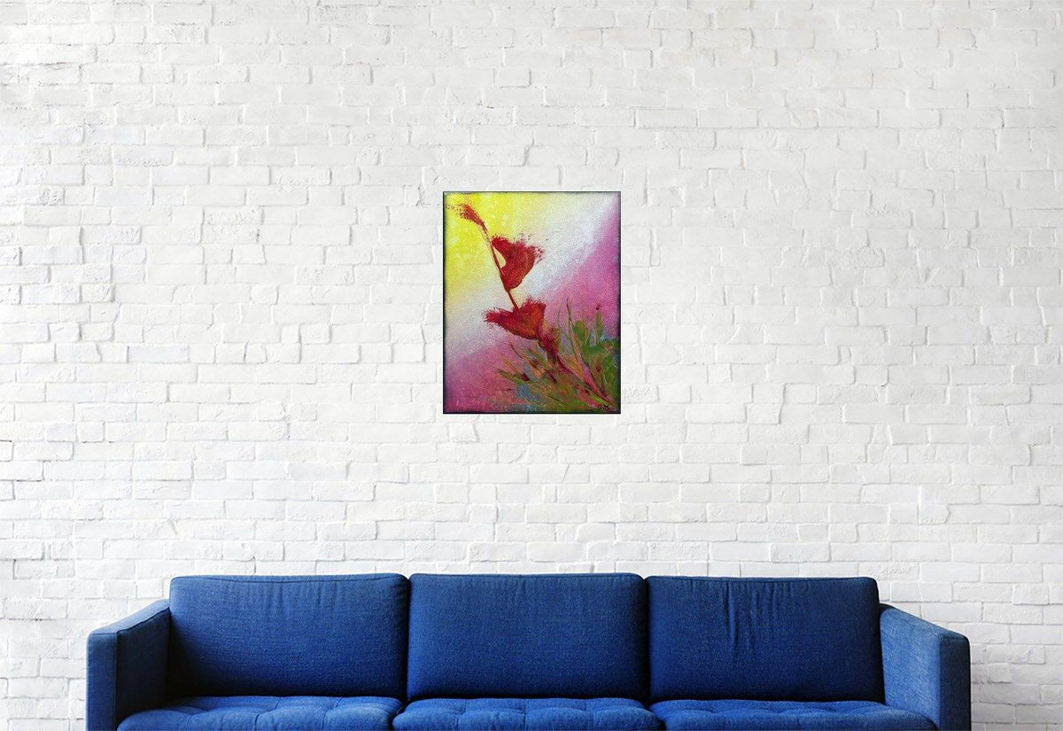 "Bonjour, voici ma dernière création, n'hésitez pas à commenter, liker et partager :) #122 ""Mandevilla"" Acrylique sur toile, 30x24 https://t.co/UeoIq650gx #abstrait, #acrylique #abstract, #acrylic, #painting, #toile, #canvas, #art,  #fineart, #abstractpainting, #modernart"