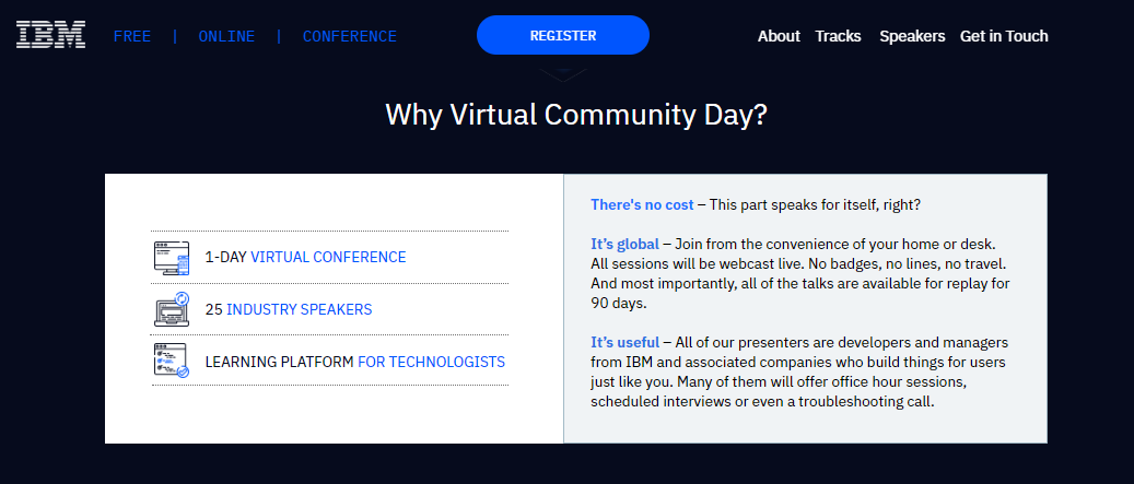 WATCH LIVE NOW  1pm ET   -Cloud Pak for Multicloud Management -Building Cloud-native apps w/Appsody  -Cloudstate- Towards Stateful Serverless   IBM Virtual Community Day  Free to attend: bit.ly/2XddOue      #cloudmigrationday #cloudpak #cloudintegration #IBM