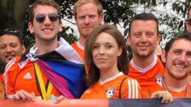 """I have a place within football again.""How an #LGBTQ+ inclusive football team brought back this transgender footballer's love for the game  👉http://bbc.in/2QoTioW"