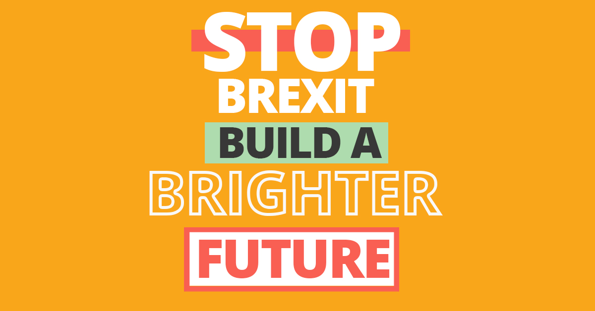 Once we #StopBrexit, we can build a #BrighterFuture for everyone. The Liberal Democrats will stop the division, chaos, new borders and economic cost that leaving the EU would bring. Find out more about our plan for the future here: libdems.org.uk/plan