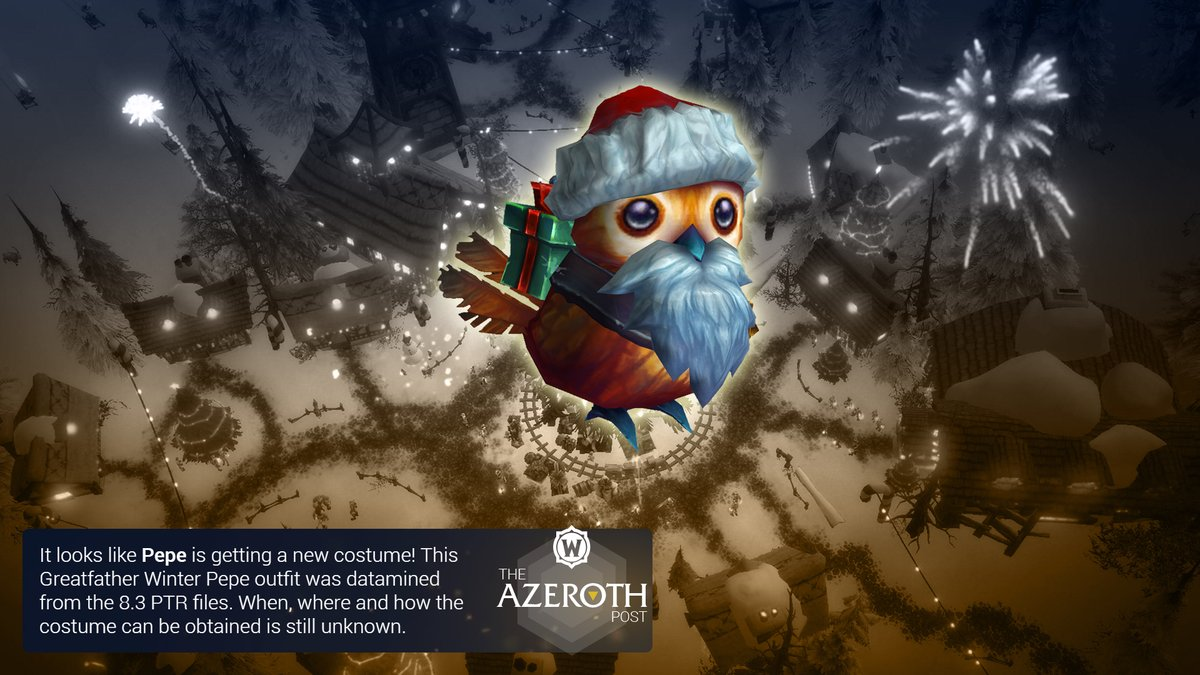 Wowhead Winter Veil 2020.Azerothpost World Of Warcraft News Blizzcon