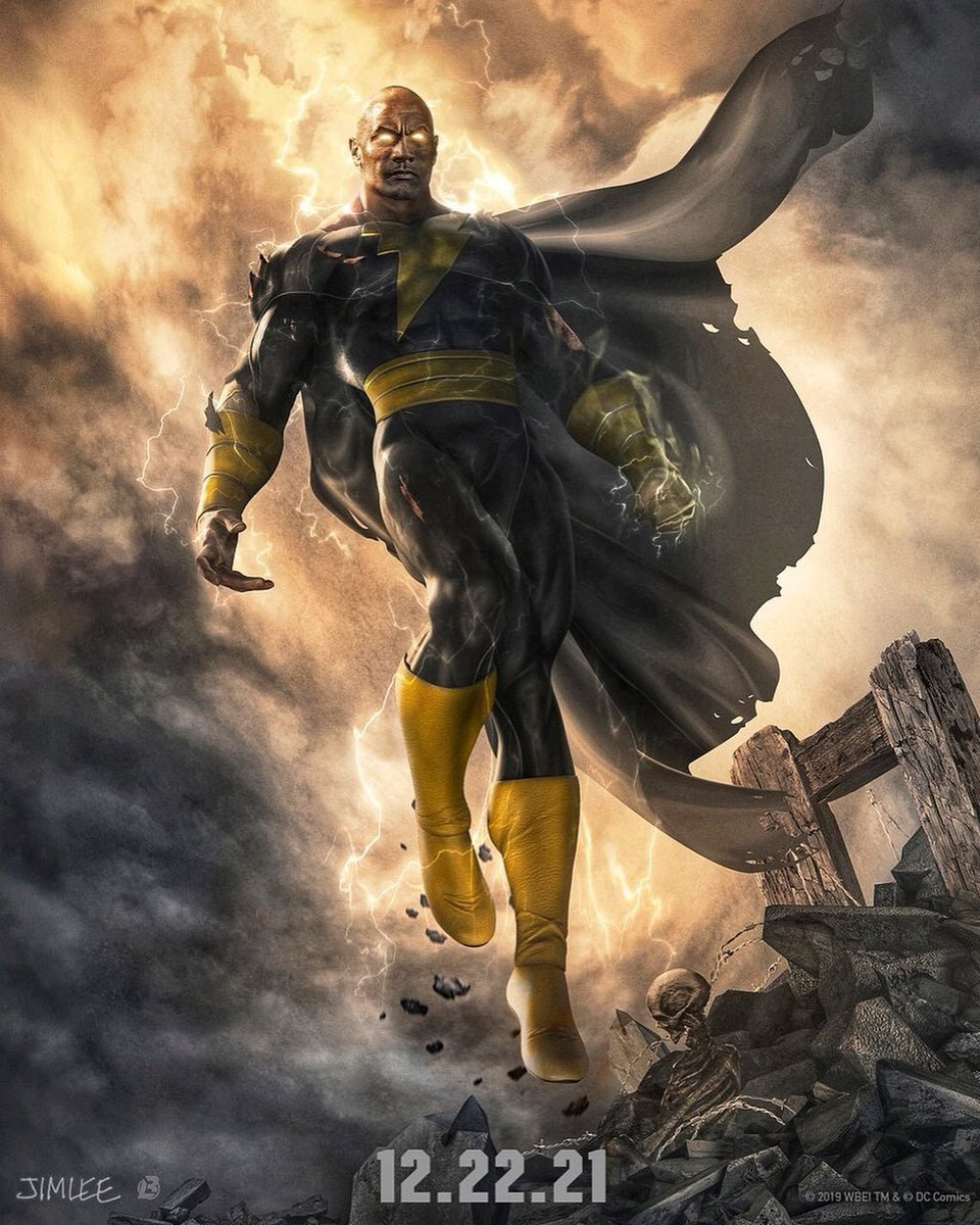 The Rock Gives First Look At His Black Adam Character, Confirms Release Date (Photo)
