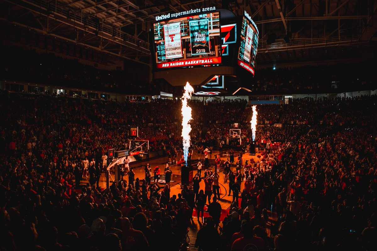 🔥 Defending Big 12 Champs 🔥 Run to the NCAA title game 🔥 Sold-out home court every night for the nation's No. 1️⃣1️⃣ team 📈 🔥 Top-5 signing class in the nation on its way  This is the place to be. 😎🔥  🔴#4To1 | #WreckEm⚫️