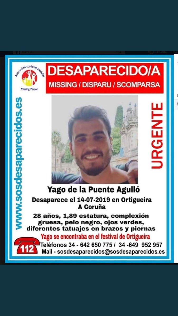 Justo hace hoy 4 meses que mi hermano Yago desaparecía en Ortigueira. Seguimos buscándolo y reclamando más medios para encontrarlo. Os invito a que compartáis su cartel y consigáis 100.000 RT o más. Seréis capaces ? 🤔Por cierto, siempre HUMOR ante todo . Gracias @LaResistencia https://t.co/POSAQy91Un https://t.co/T1YSwS69Ch