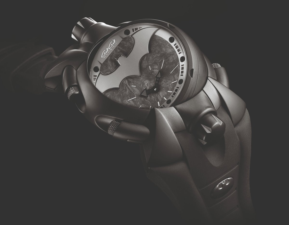 Batman's got you • What do you think of this ?@GaGaMilanoWorld #watch #batman #ad