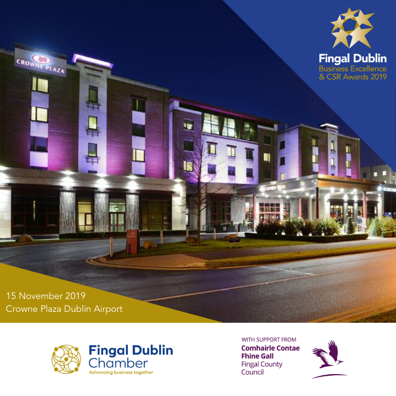 It's nearly time for the 2019 Fingal Dublin Business Excellence & CSR Awards - Gala Presentation Evening.  Read about the finalists → https://t.co/JaTYr6SE9R Follow the event → #FingalBizAwards https://t.co/4TTmoXWW2S