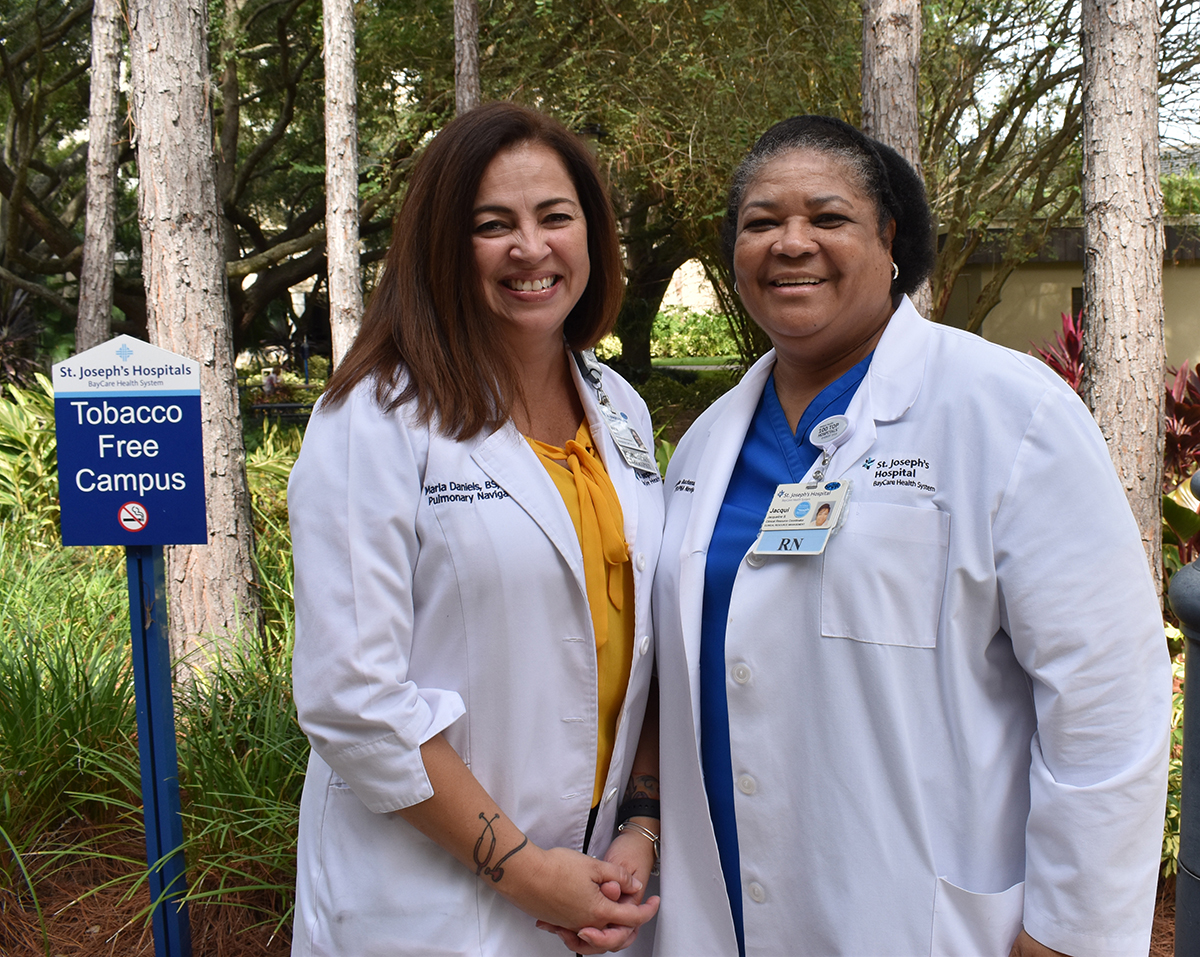Chronic Obstructive Pulmonary Disease  affects millions of Americans. Thank you to our teams of respiratory therapists & COPD navigators who help those with lung diseases such as emphysema & chronic bronchitis breathe a little easier. #COPDAwarenessMonth