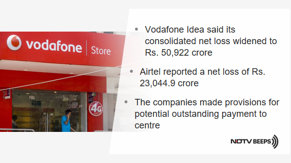 Vodafone Idea, Airtel Post Massive Quarterly Losses Over Outstanding Dues https://www.ndtv.com/india-news/vodafone-idea-loss-at-rs-50-000-crore-airtel-rs-23-000-crore-over-dues-2132686… #NDTVNewsBeeps