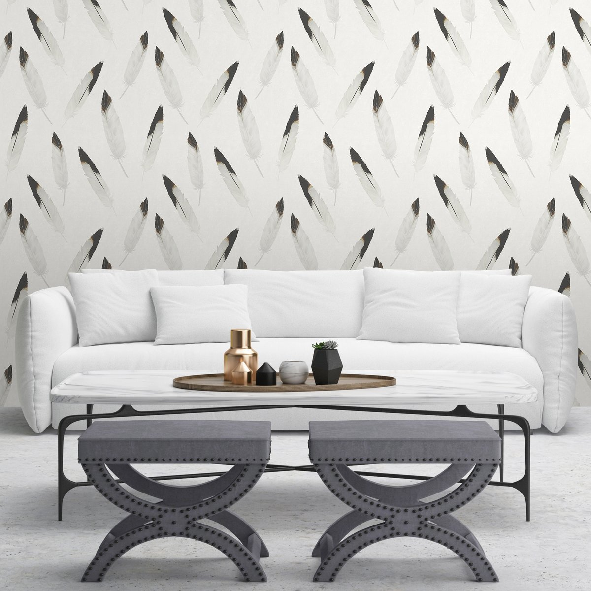 Loving seeing the new Hunley design in grey - a new addition to the West Heritage Collection. What complementary colour would you go for?#homedecor #decor #homedesign #home #design #interiordesign #wallpaper #painting #homesinspiration #inspiration #instainspo