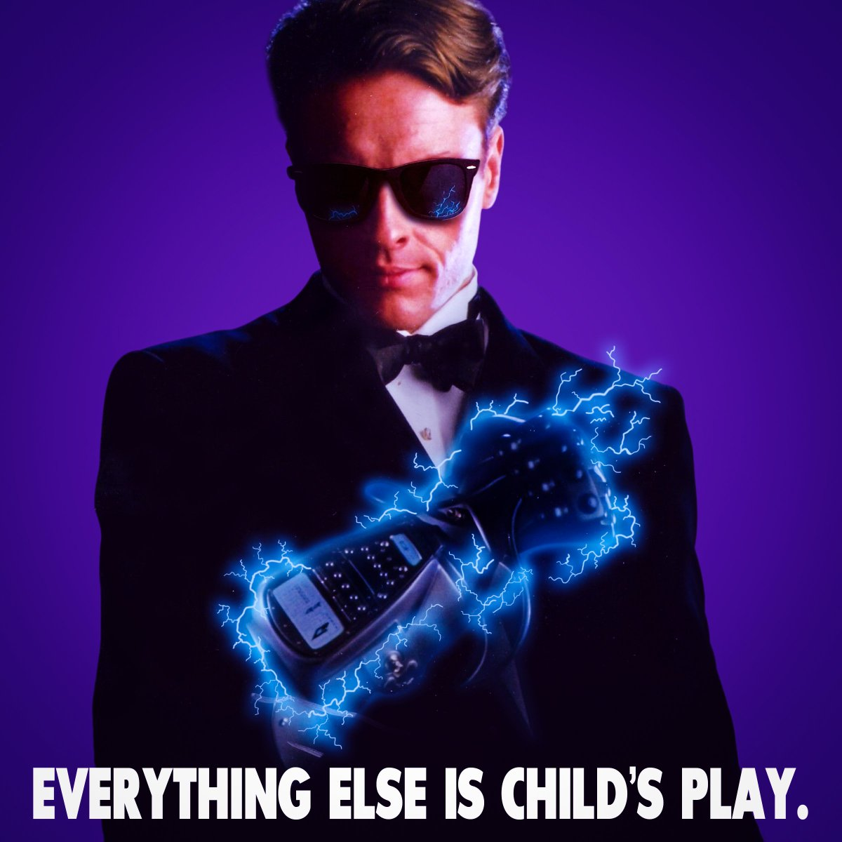 You see Mr. Bond, you can't kill my dreams. But my dreams can kill you. Time to face destiny!#ianfleming #JamesBond #bond25 #Bond #365jamesbondcharacters #Nintendo #dieanotherday #graphicdesigner #PierceBrosnan #movies #design #powerglove #photograph #notimetodie #tobystephens