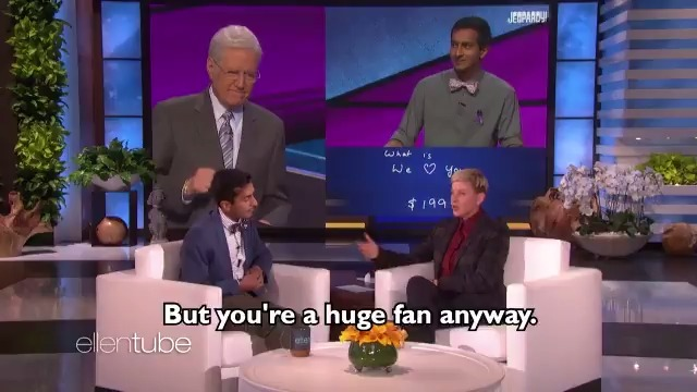 .@Jeopardy  contestant Dhruv Gaur was here to tell me about my favorite answer of all time.