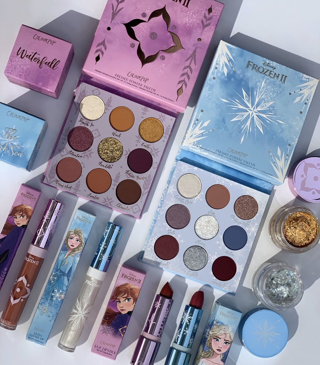 ❄️ #GIVEAWAY ❄️ For the first time in forever, we are giving away the complete Frozen 2 collection to 2 lucky winners! To Enter: ❄️: Like & RT ❄️: Follow @ColourPopCo ❄️: Reply #frozen2andcolourpop