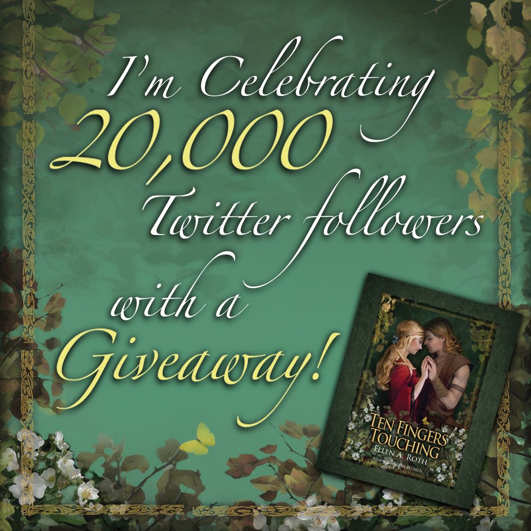test Twitter Media - My book #giveaway continues! Join me in celebrating 20K followers. To enter: Retweet with the hashtag #TenFingersTouching. Winner will be randomly selected and announced on 11/18/19. Winner must be following @EllenRothAuthor. #amwriting #writingcommunity #fantasyfan https://t.co/qisBVoxoPf