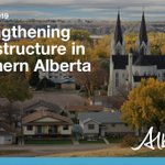 Image for the Tweet beginning: Public infrastructure in southern Alberta