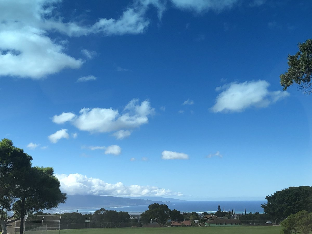 test Twitter Media - Mostly blue skies looking towards the valley from upcountry. #cmweather #Maui #Mauinokaoi https://t.co/sHtuiOb2Se