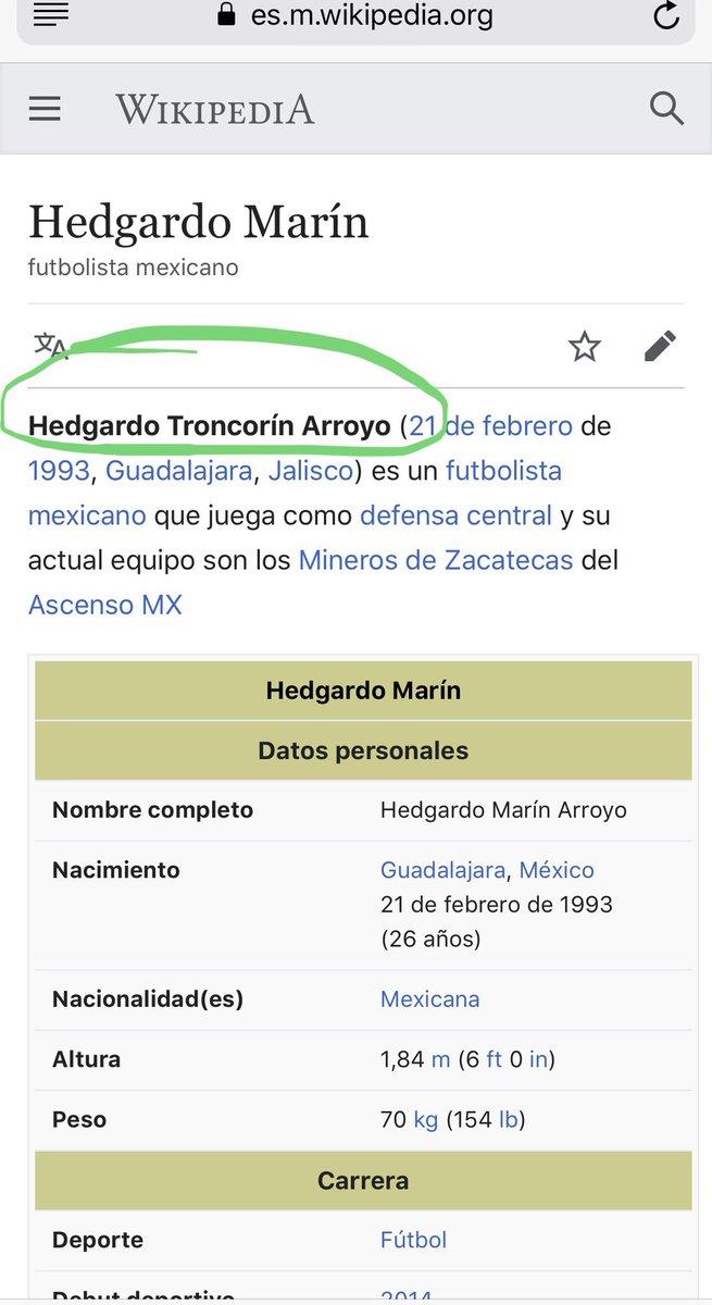 Quien se pasó de lanza así? Jajaja  Bendito y editable wikipedia... https://t.co/buxenALUfu