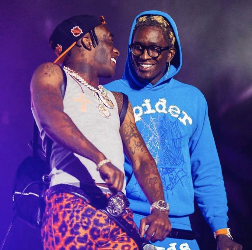 Lil Uzi Vert & Young Thug at Rolling Loud in Bay Area, CA
