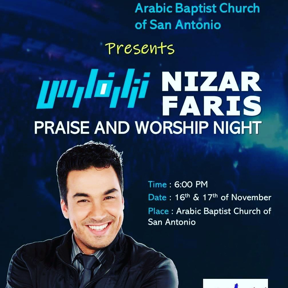 """Friends in #San_Antonio #Texas, join me for #prayerful moments in the #Lord's presence this weekend 🙏🏼. """"Pour out your heart before Him; #God is a refuge for us."""" #psalms  62:8  أحبائي في #سان_أنطونيو - #تكساس، لاقوني لنفرح معاً بحضور #ربنا https://t.co/6ly1BCGYNw"""