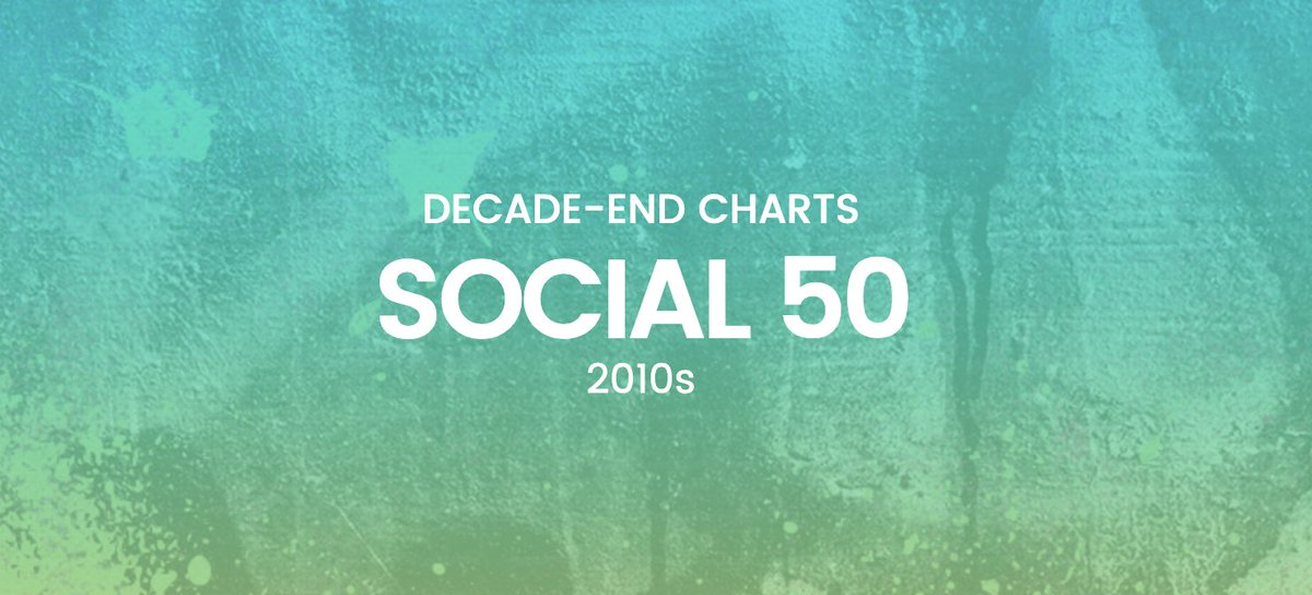 Monsta X lands on @Billboard's Decade-End Social 50 chart at No. 43! Congratulations, @OfficialMonstaX!  Full chart: https://www.billboard.com/charts/decade-end/social-50…  Artists No. 6-10 to be announced each month  Artists No. 1-5 to be announced at the 2020 @BBMAs