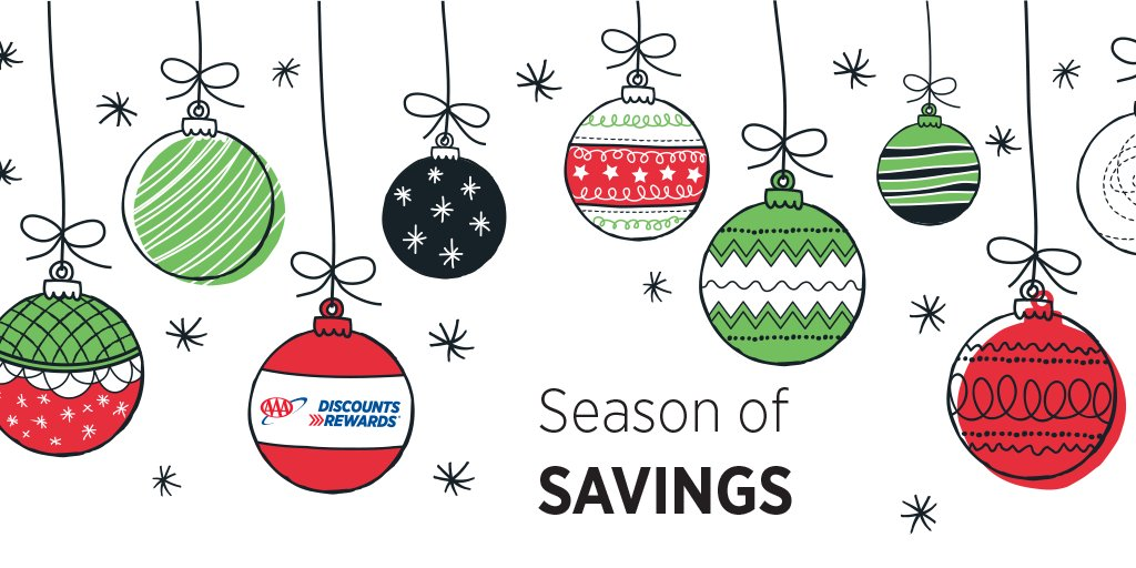 Use your AAA card for more than just roadside assistance this holiday season. Get #AAADiscounts automatically when shopping online and at over 100,000 locations across the U.S.
