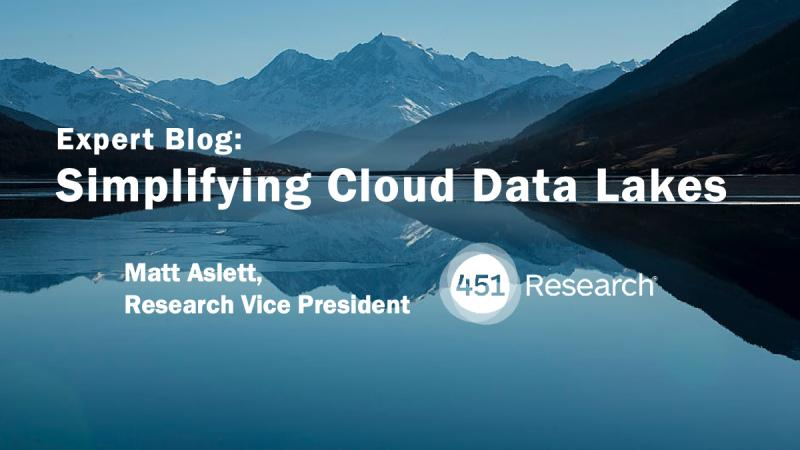 A timely blog on #Cloud #DataLakes from @451 Research's @Matt Aslett offers a brief history, evolution and current state https://lnkd.in/eEUBqd5