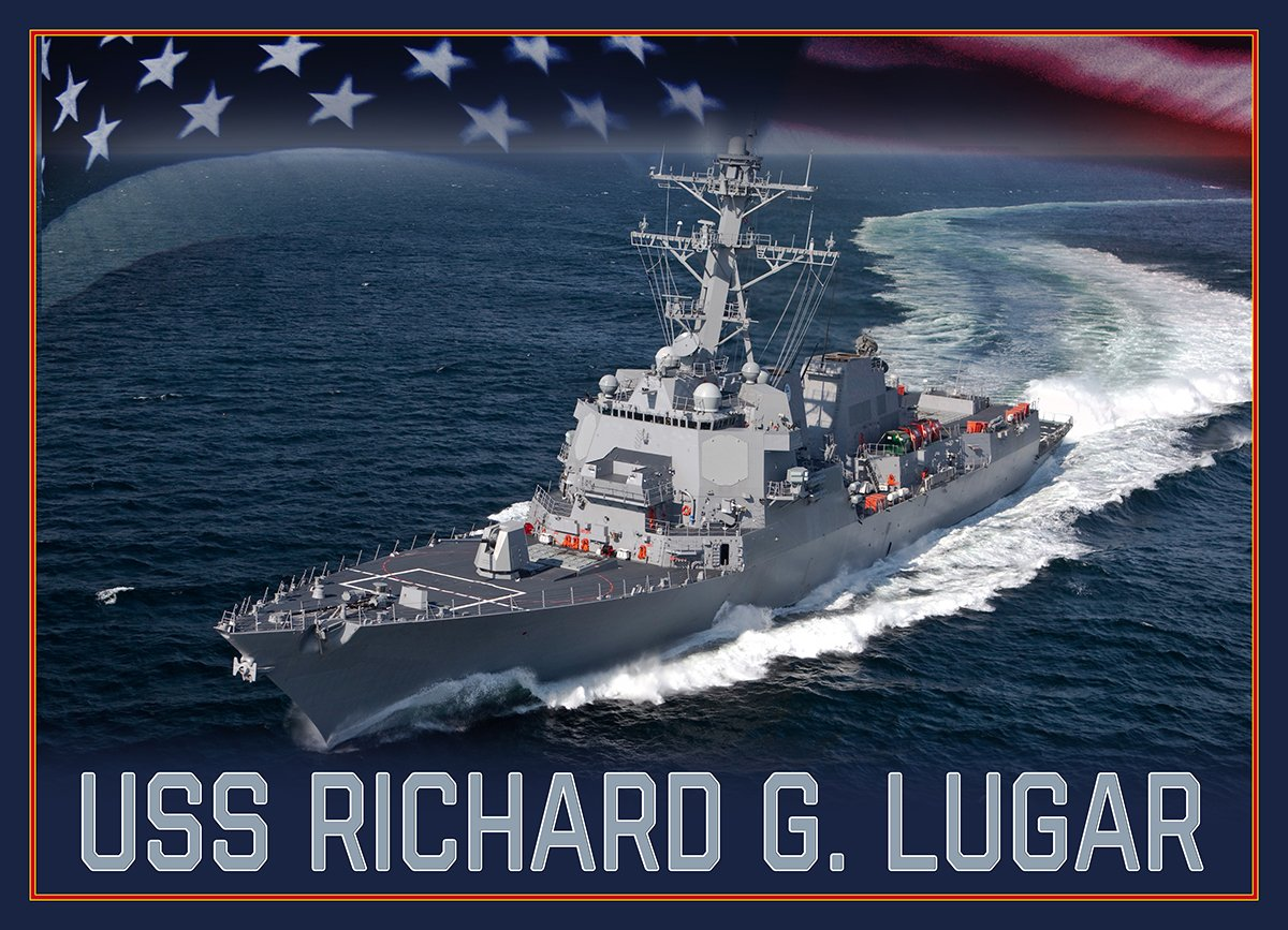 I am honored to name a future Arleigh Burke-class guided-missile destroyer after Senator Richard G. Lugar, who dedicated his life to his country, first through service in the U.S. Navy then through service in Congress. https://t.co/pv04hvJISu