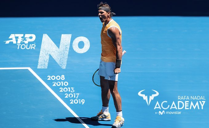 VAMOS @RafaelNadal will end world number  for the th time.   CONGRATULATIONS<br>http://pic.twitter.com/cwM1CGRIiH