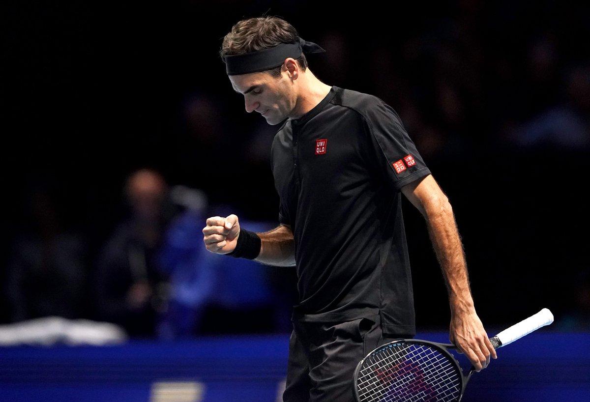 ATP Finals. Федерер в двух сетах побеждает Джоковича и выходит в полуфинал