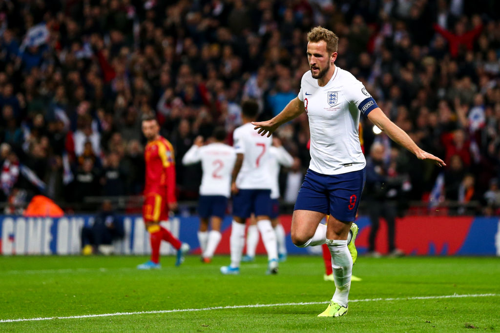 Harry Kane bagged a hat-trick as England qualified for Euro 2020 after thrashing Montenegro at Wembley.Report: https://bbc.in/2XcVzFp