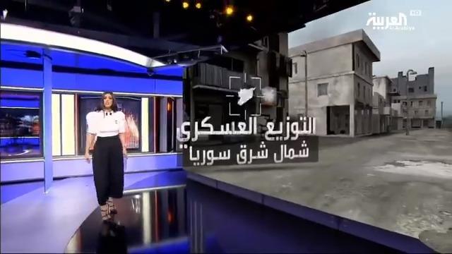 التوزيع العسكري شمال شرق #سوريا