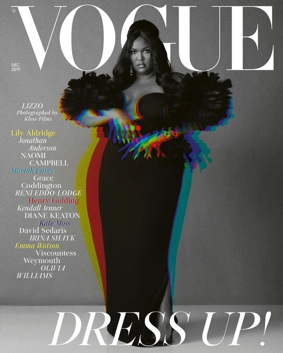 Psyched to share a cover with @lizzo! 🙌🏼 @BritishVogue