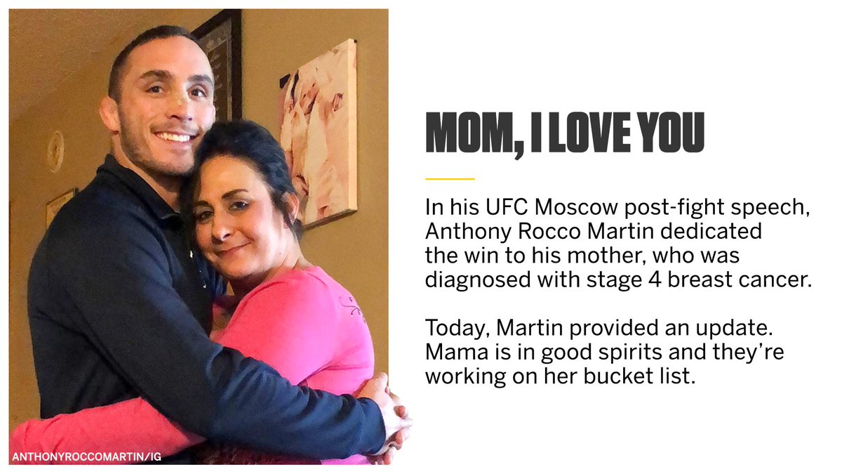 Rocco and Mama are making that list 📝 (via @TonyRoccoMartin)