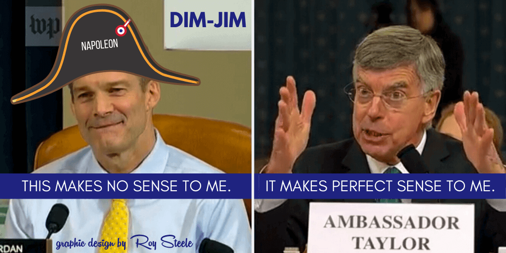 Ohio Republican DIM-JIM @Jim_Jordan's Napoleon Complex is affecting his acting performance. He plays an 'outraged Greedy Old Prick' on TV, and got an F yesterday. #JimJordan #JimJordanLies #LiarInChief #ImpeachTrump
