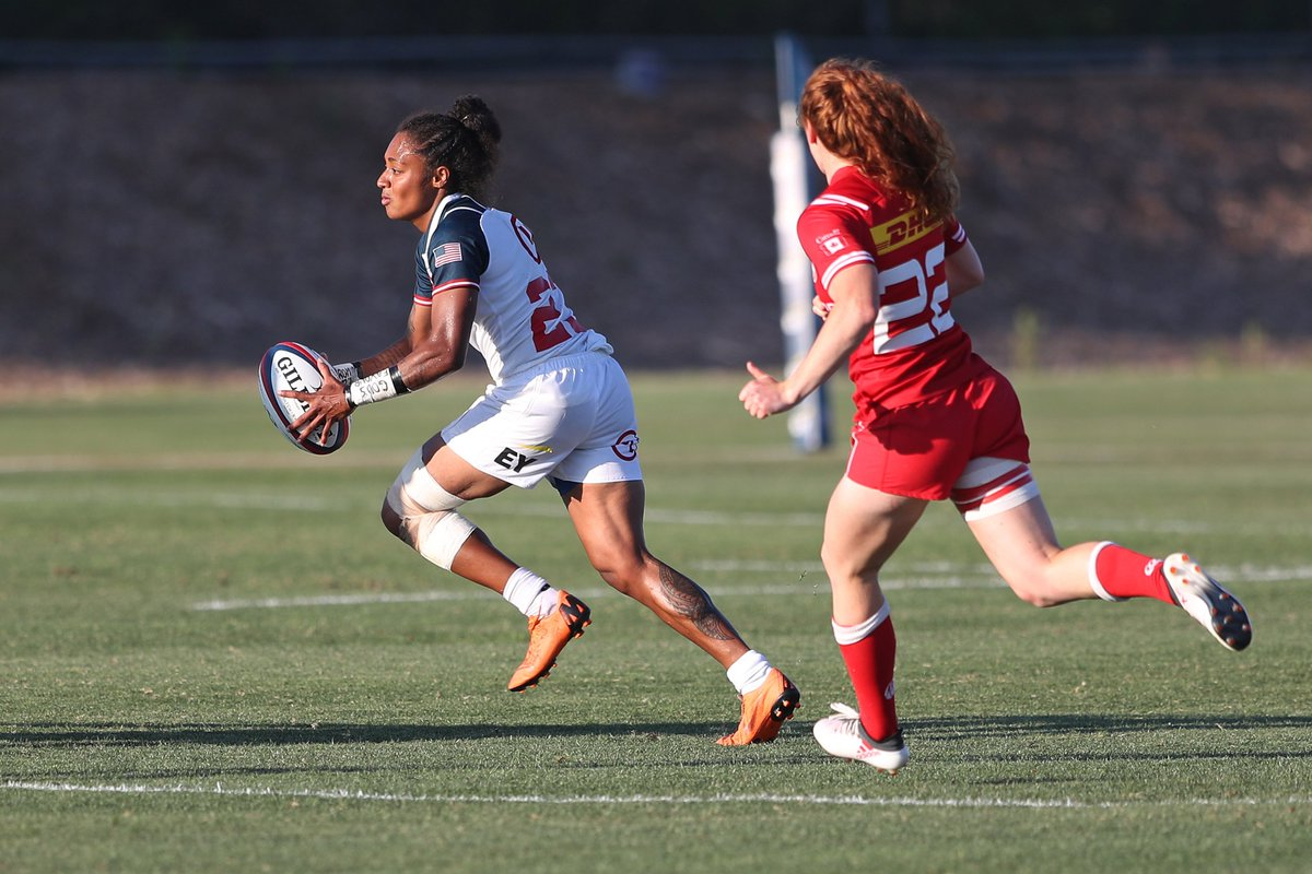SQUAD UPDATE | Bulou Mataitoga will no longer assemble with the #USWNTXVs due to injury. Reserve Tess Feury will join the team in her stead. The USA faces Canada Nov 20 & 24 on @FloRugby.
