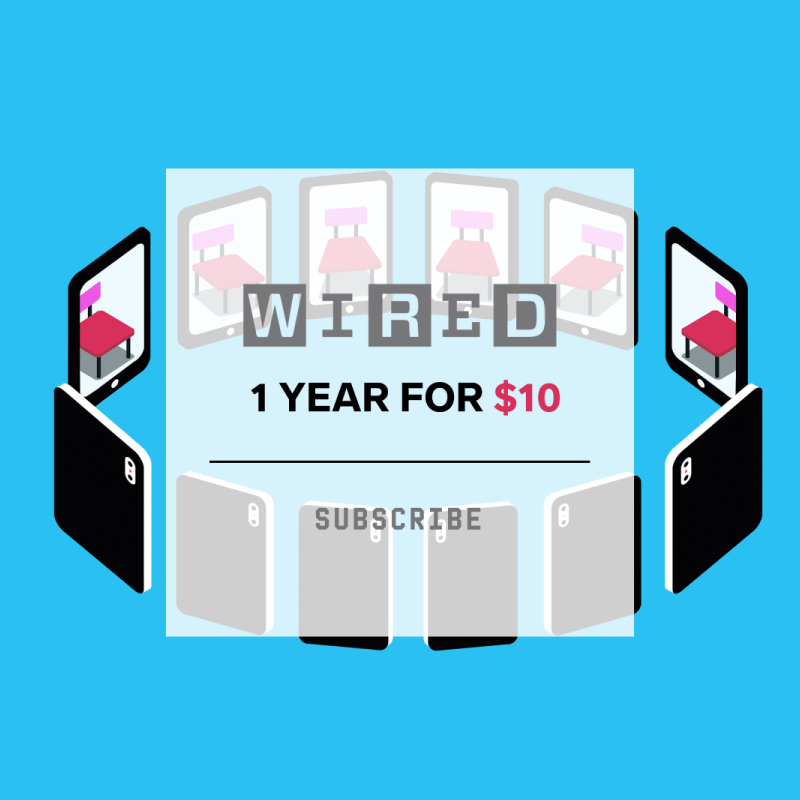 Last call! Get 1 year of print and digital access for just $10. Plus, you'll receive a free WIRED webcam cover.<https://wired.trib.al/2t6fclQ>Questions? Call 1-800-SOWIRED or email WIRcustserv@cdsfulfillment.com.