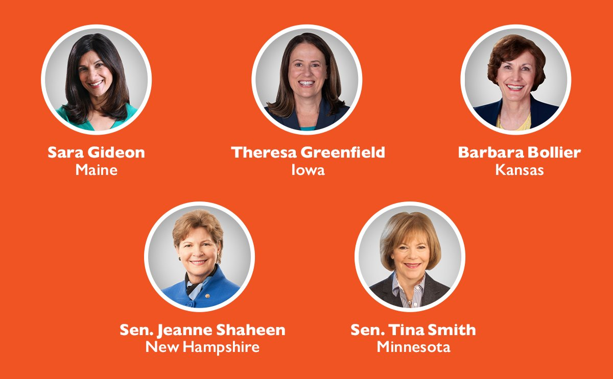 We need to flip the Senate. Here are five candidates you can support right now: