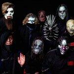 Image for the Tweet beginning: American metal band Slipknot to