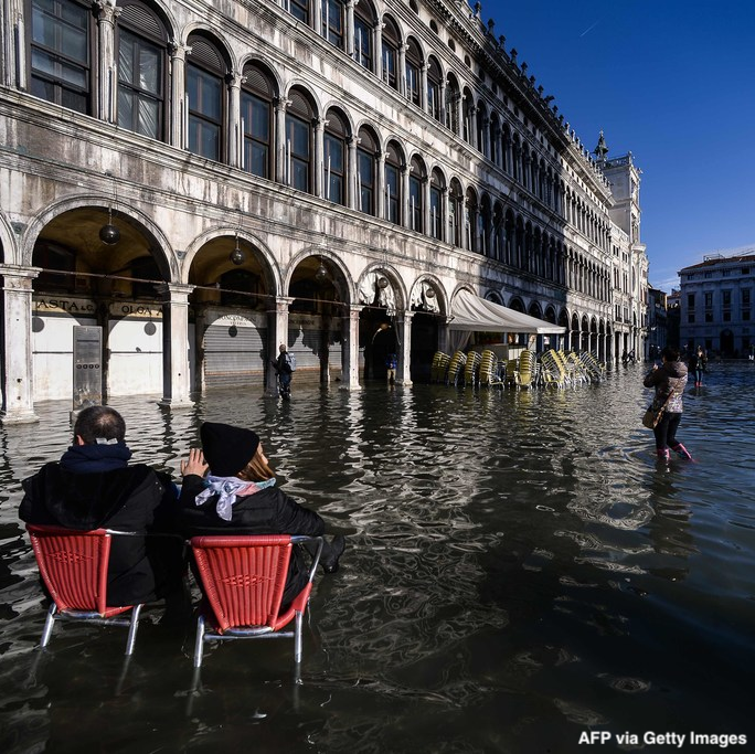 Italy's government declares state of emergency after floodwaters ravaged Venice, causing inestimable damage to the centuries-old city. https://abcn.ws/37aSVoj