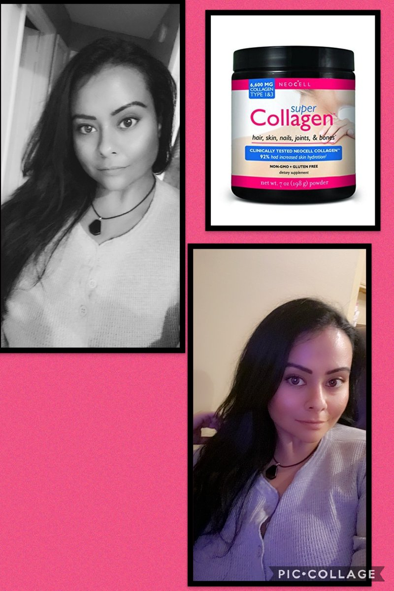 Thanks to @NeoCellHealth my skin,hair and nails are super healthy 😍 totally recommend this product #neocell #selfcare #HealthyLiving #selfie #blogger