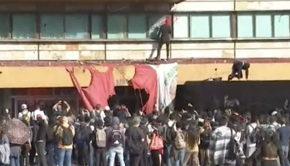#ÚltimaHora Comunicado de la UNAM tras actos vandálicos en CU http://bit.ly/2CHpego
