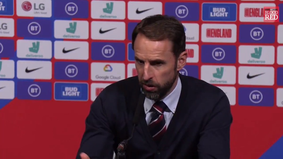 I dont get it. Gareth Southgate questioning the England fans after they booed Joe Gomez after he came off the bench last night 🔴 #LFC